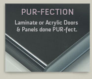 PUR-fection Cabinet Doors